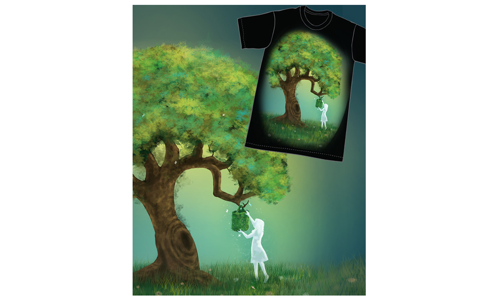 Threadless challenge: new design Give and Take