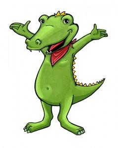 Figur: Krokodil
