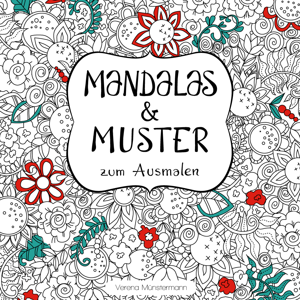 30 mandala and pattern designs to color and calm down.