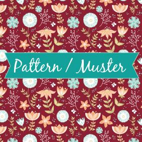 pattern / Muster für Servietten, Grußkarten, Stoffe