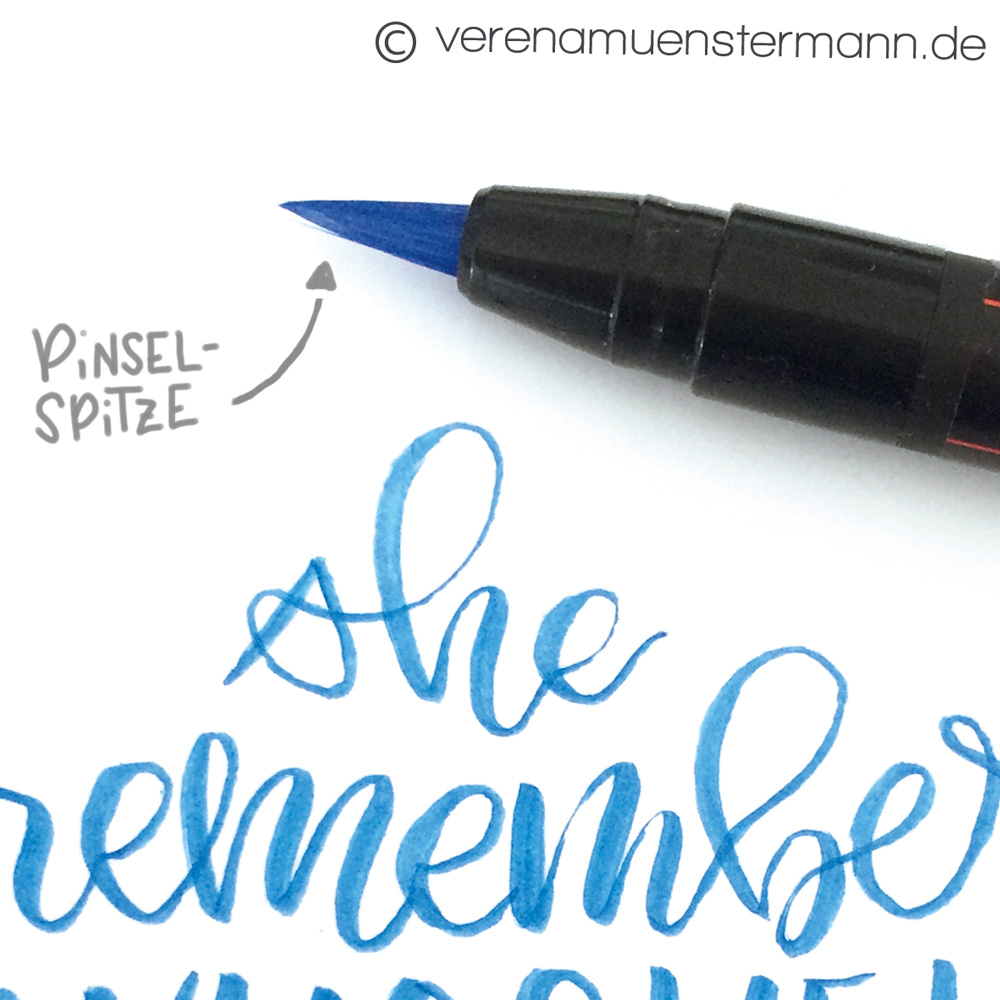 uniball brushpens verenamuenstermann