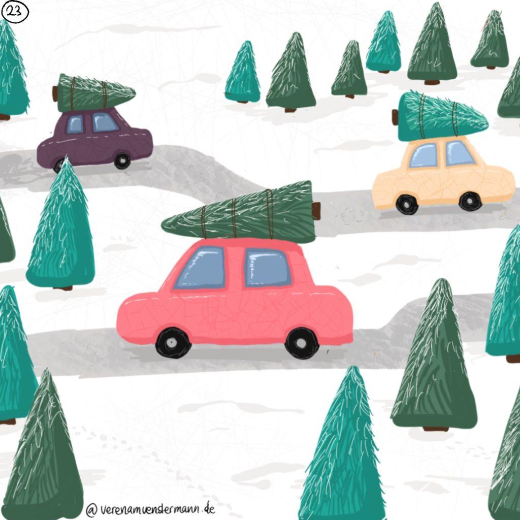 Verena Muenstermann Weihnachtlich illustration
