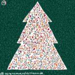 Verena Muenstermann Weihnachtlich illustration Weihnachtsbaum