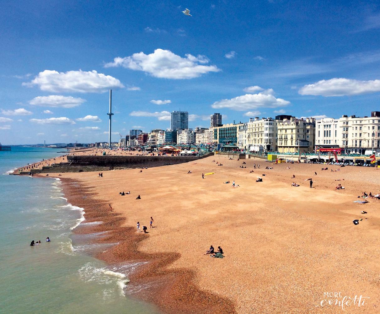 Brighton – englisches Seebad – für jeden etwas dabei