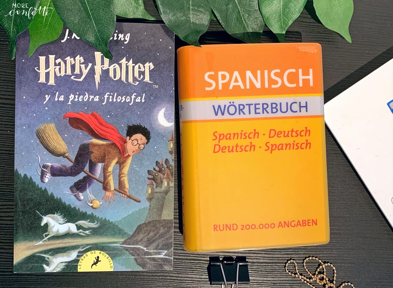 spanisch lernen mit Harry Potter