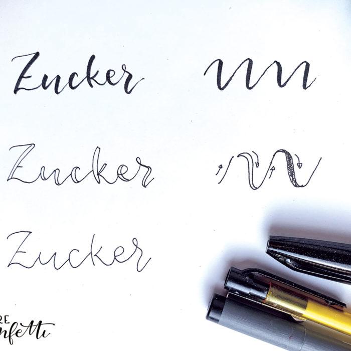 Lettering für Beginner