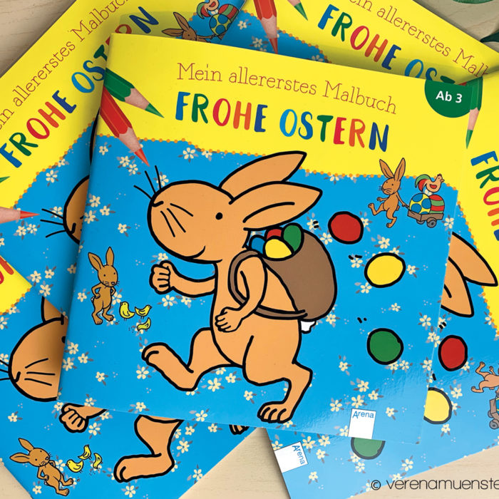 Ostermalbuch 2019 – Coloring Book