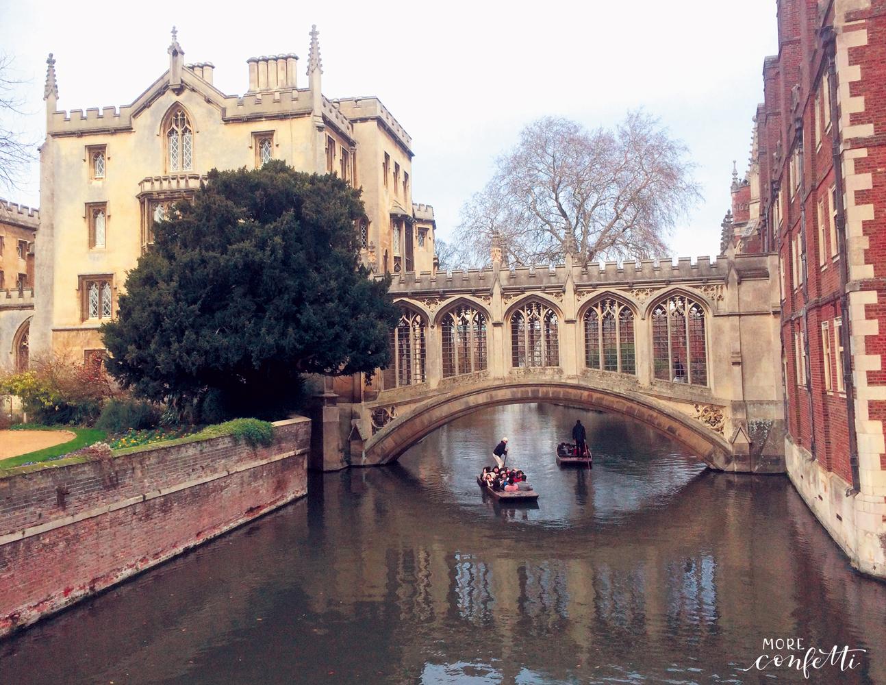 Cambridge – zurück zur Uni – Tagesausflug