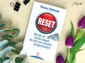 Buchrezension - Thomas Hohensee - reset - verenamuenstermann.de