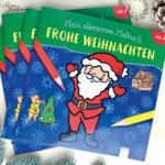 Weihnachsbuch zum Ausmalen für Kinder verenamuenstermann.de