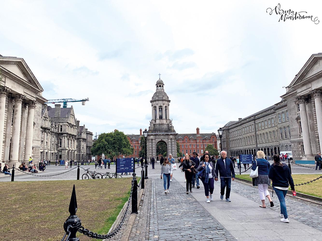 Dublin - Städtetrip - Trinity College - verenamuenstermann.de