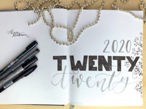 bullet Journal 2020 - moreconfetti