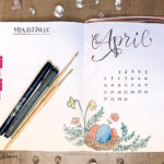 moreconfetti - Journal - setup - april