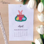 verenamuenstermann - Ausmalbild - Osterbild Kalender