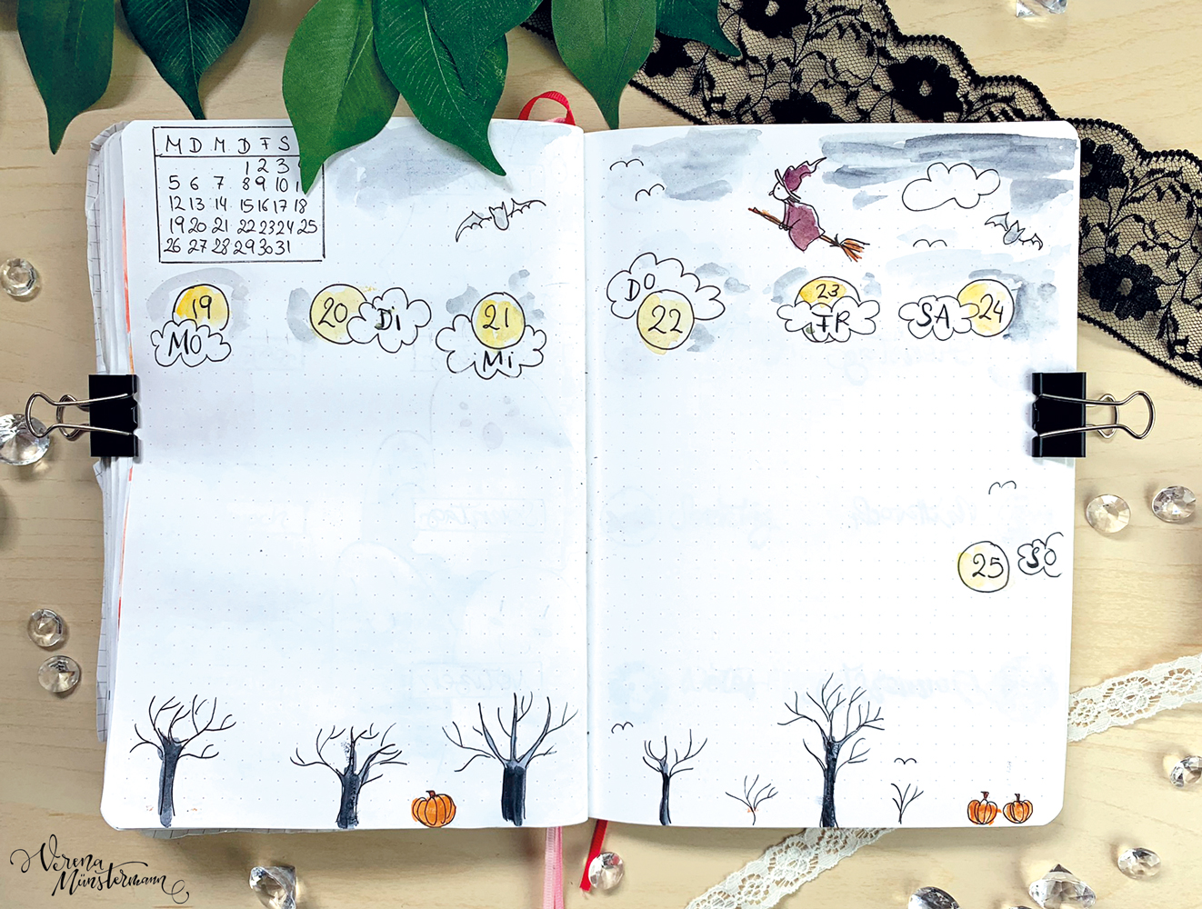 verenamuenstermann - Journal - Wochenübersicht - Oktober