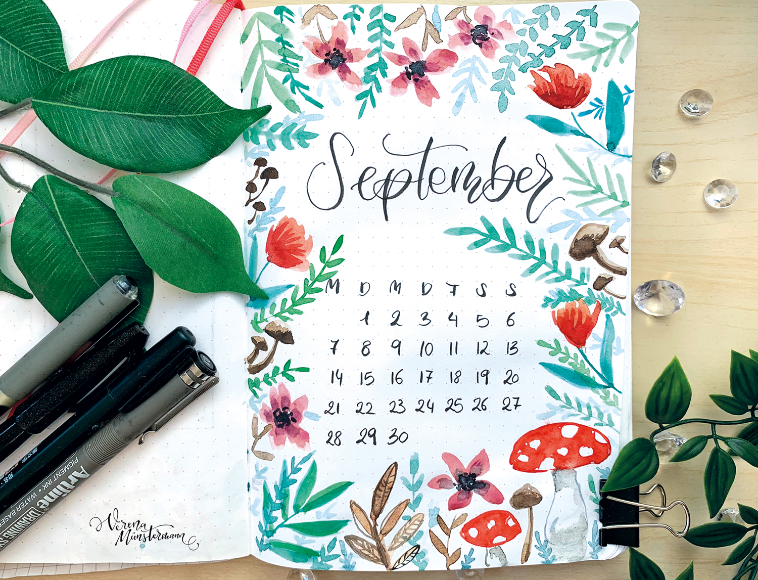 Bullet Journal – September 2020