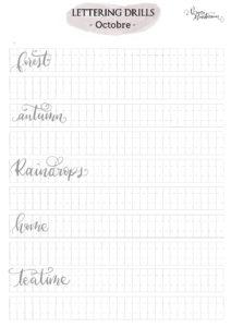 verenamuenstermann - lettering