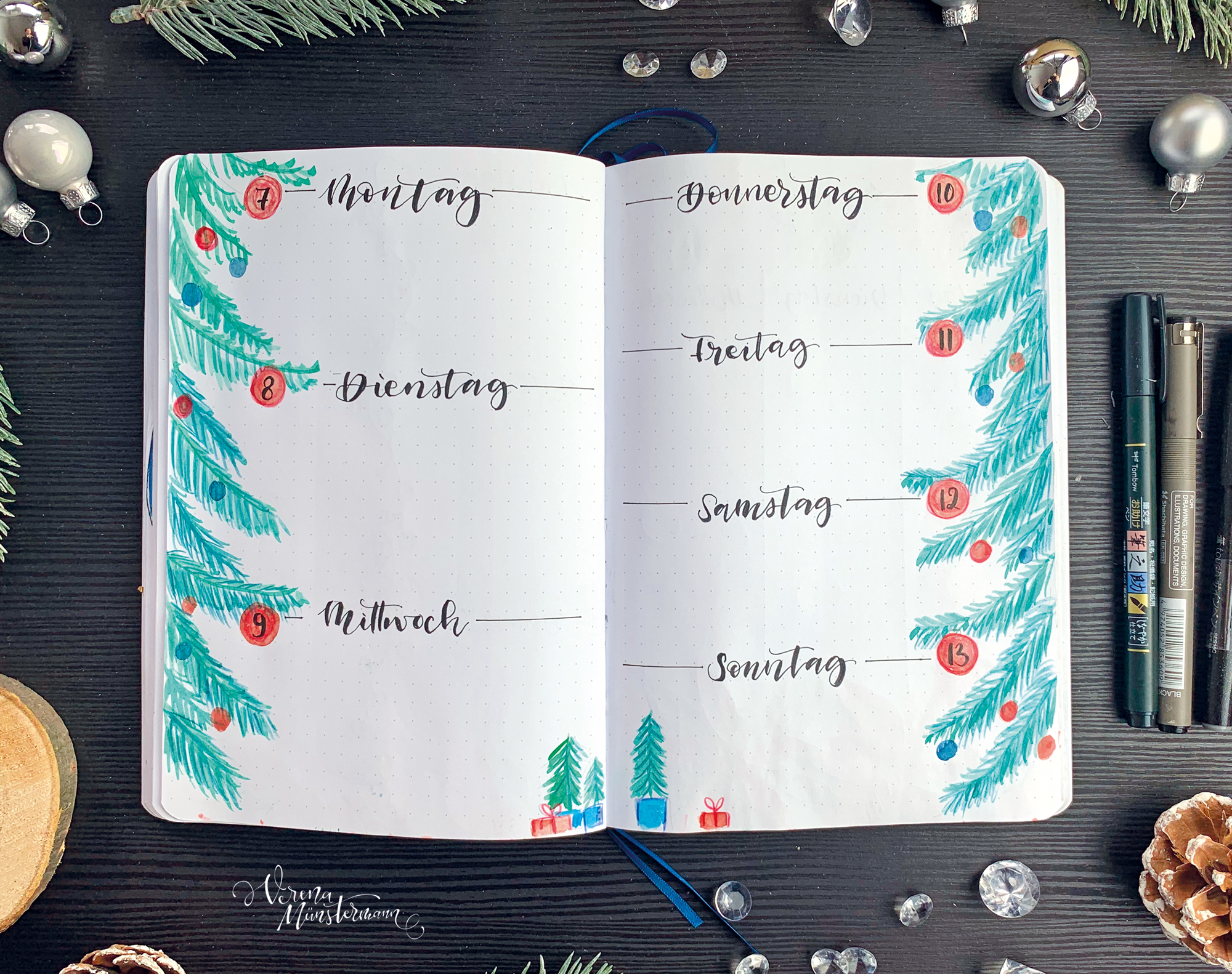 verenamuenstermann - Wochenübersicht - Dezember