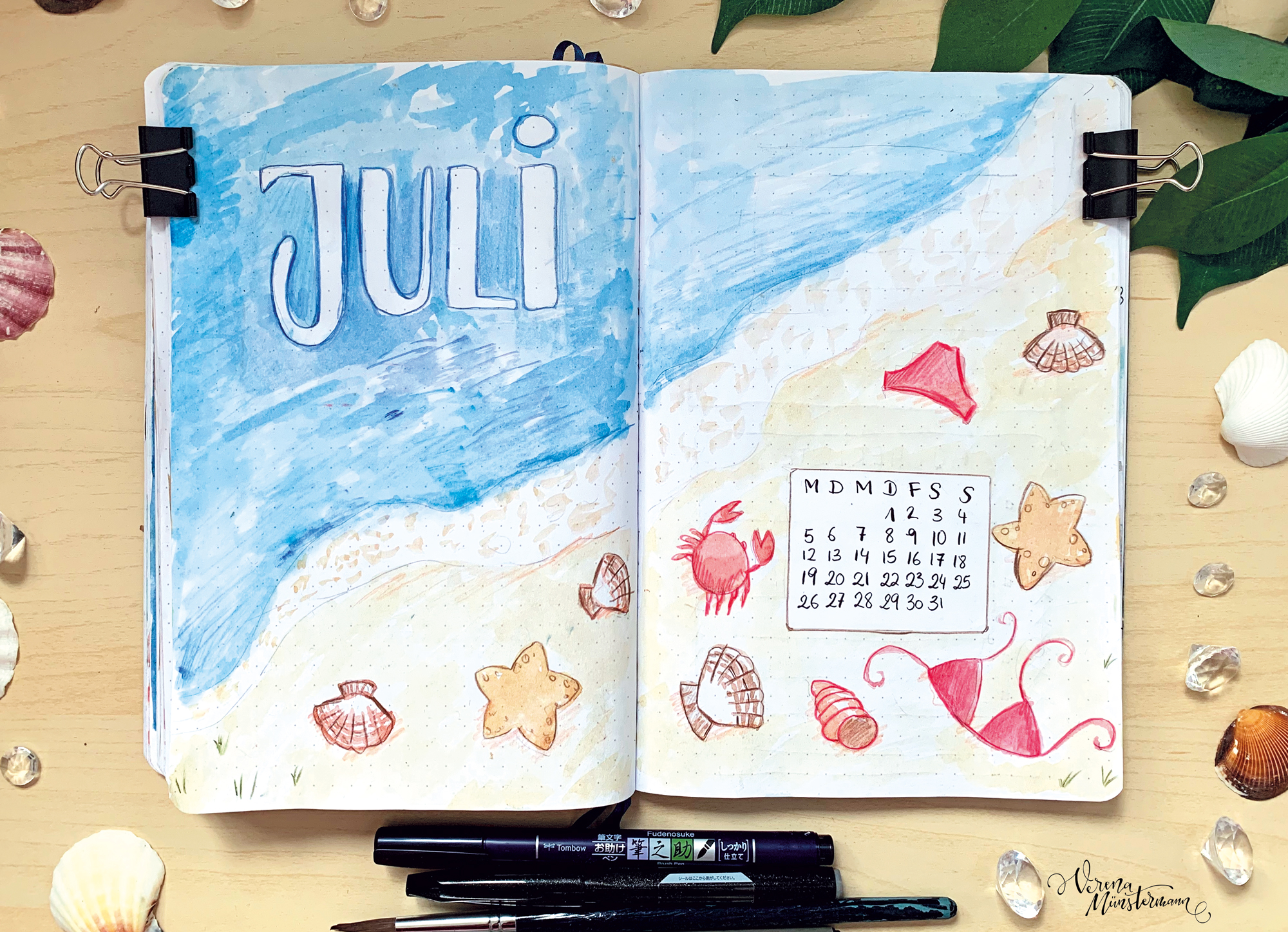 Bullet Journal – Juli 2021