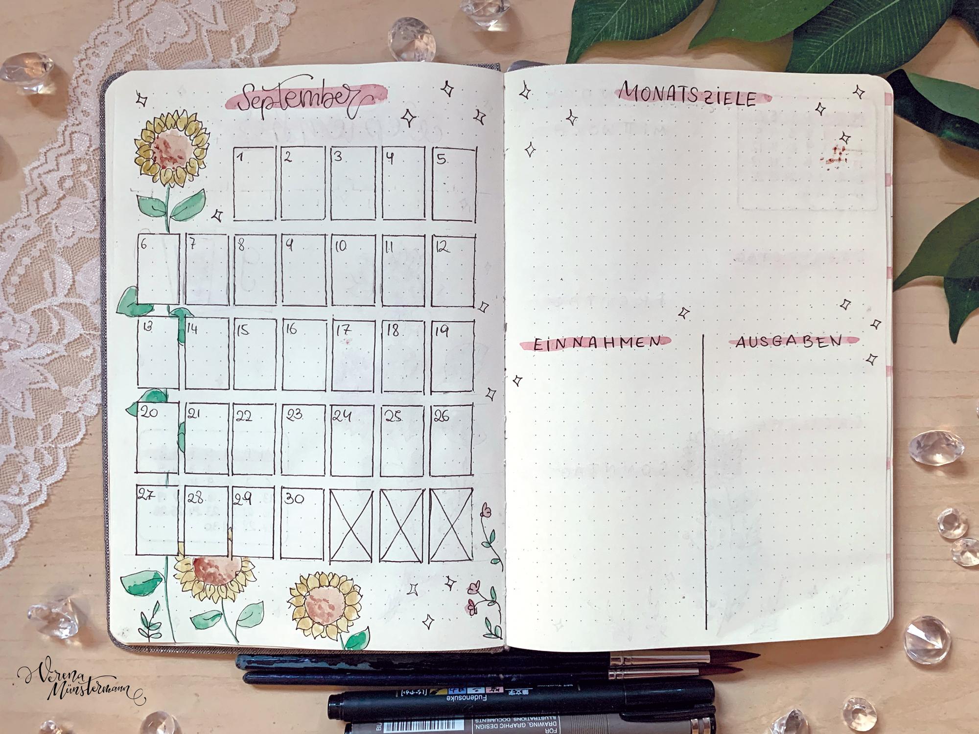 verenamuenstermann - Journal - Wochenübersicht - September