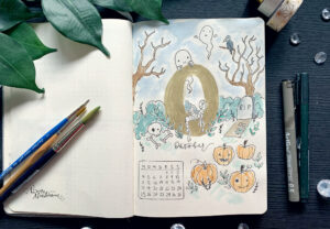 verenamuenstermann - Journal - Titelpage - Oktober