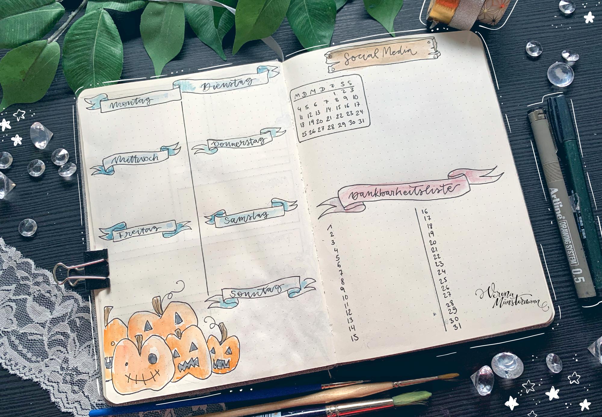 verenamuenstermann - Journal - Dankbarkeitsliste - Oktober